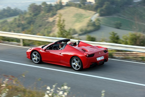 The Ferrari 488 Spyder