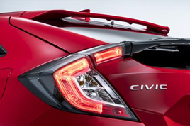 Honda Civic 2017 rearlight