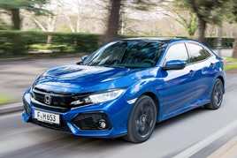 Honda's Swindon-built Civic hatchback