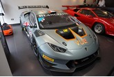 HR Owen Lamborghini London has welcomed a podium-ready Lamborghini Huracán LP 620-2 Super Trofeo to its showroom.
