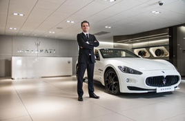 Mark Langfield HR Owen Maserati brand director 2016