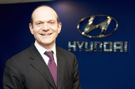 Tony Whitehorn, Hyundai Motor UK