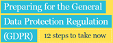 ICO Preparing for the GDPR 12-steps 2017 cover