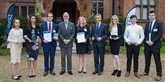 IMI Patron, His Royal Highness Prince Michael of Kent with IMI apprenticeships outstanding achievers 2016