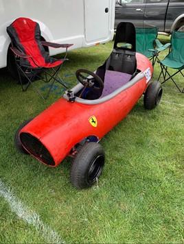 Ferrari Maserati soapbox car Jardine Motors 2019