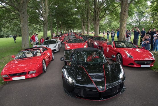 JCT600's Ferrari 70th anniversary celebrations at Leeds' Roundhay Park