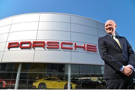 James Bridge, JCT600's head of business at Porsche Sheffield