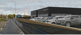 Artist's impression of the proposed new JLR site due to be operated by JRB Automotive in Wolverhampton