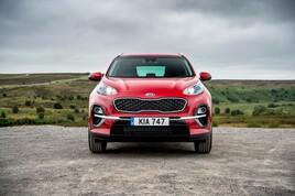 Kia's UK best-seller, the Sportage SUV