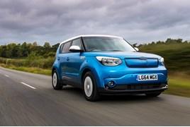 Kia Soul EV electric vehicle