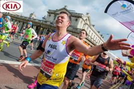 Paul Philpott in the 2017 London Marathon