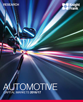 Knight Frank Automotive Capital Markets 2016-17 report cover