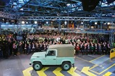 Land Rover Defender ceases productionat Solihull