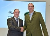 Ben Duckworth and Martin Johnson