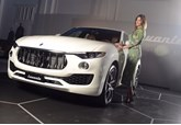 Lisa Snowden and the Maserati Levante SUV