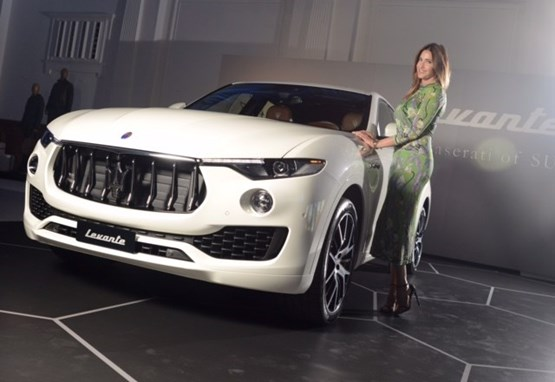 Lisa Snowden and the Maserati Levante SUV