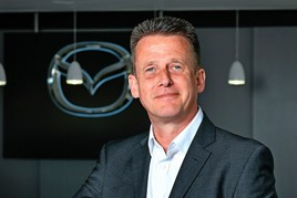 Jeremy Thomson, managing director, Mazda UK