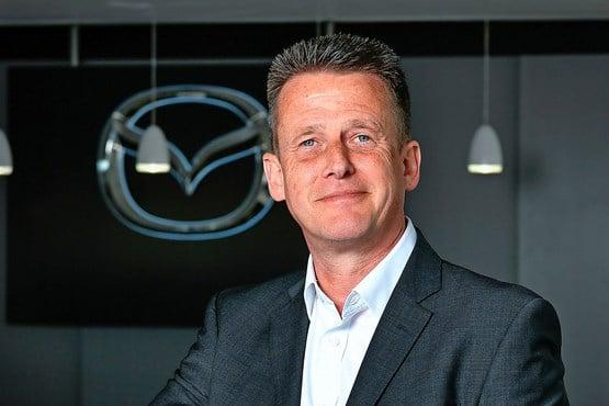Jeremy Thomson, managing director, Mazda UK