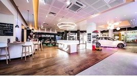 Mercedes-Benz UK's Group 1 Automotive-operated pop-up store in Norwich's Intu Chapelfield Shopping Centre