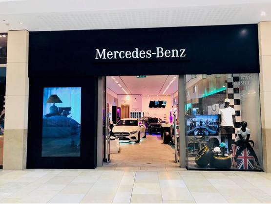 Mercedes-Benz Cardiff pop-up