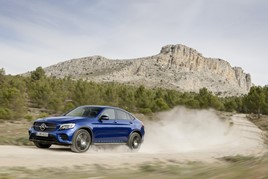 Discounted: The Mercedes-Benz GLC Coupe