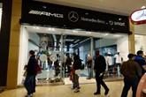 Mercedes-Benz Retail Group Bullring pop-up store 2015