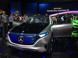 Mercedes EQ at Paris Motor Show 2016