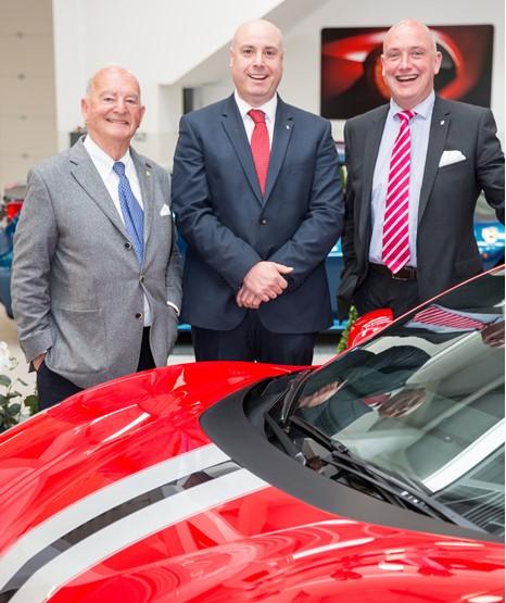 Dealer Meridien Modena Opens 163 3 5 Million Ferrari Service