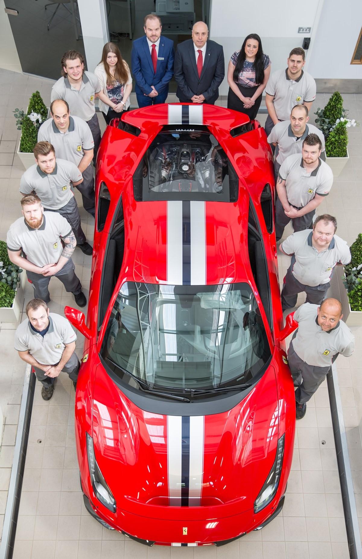 Dealer Meridien Modena Opens 3 5 Million Ferrari Service Centre In Hampshire Gallery Car Dealer News