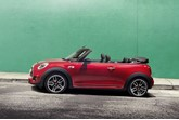 Mini Convertible 2016 with its roof down