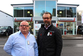 Andy Jackson and David Pennock - Richard Lawson Mitsubishi