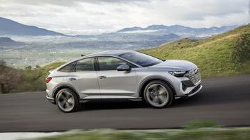 Audi's newly unveiled Q4 etron EV SUV