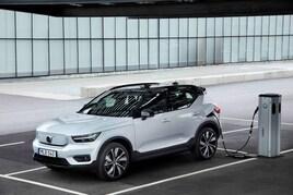 Volvo's XC40 Recharge electric vehicle (EV)