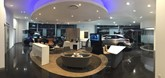 The showroom of Motorline's Lexus dealership in Tunbridge Wells