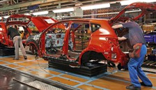 Nissan's production line in Sunderland