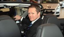 Peugeot UK managing director, David Peel