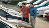 car sale handover