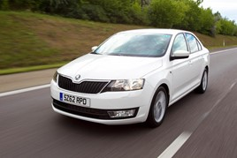 Image of a used Skoda Rapid
