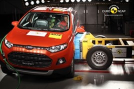 Ford Ecosport in EuroNCAP crash test