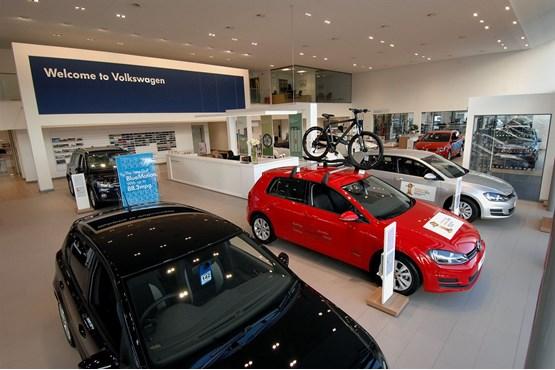 sinclair volkswagen swansea opens car manufacturer news. Black Bedroom Furniture Sets. Home Design Ideas