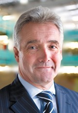Vertu Motors chairman Peter Jones