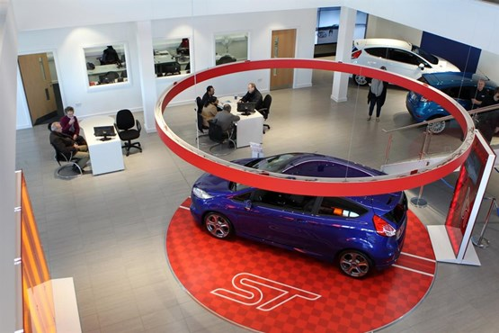 car dealer sandicliffe opens 15m ford store in leicester. Black Bedroom Furniture Sets. Home Design Ideas
