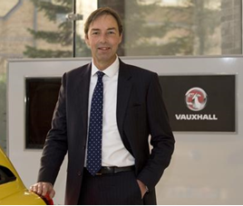Vauxhall Motors' marketing director, Simon Oldfield