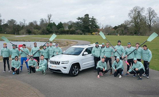 Jeep supports Cambridge University in 2015 BNY Mellon Boat Race