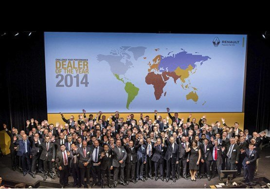Renault reveals its 'Dealers of the Year' 2014