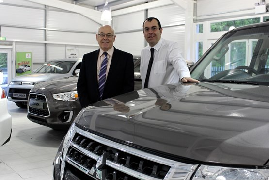 Colley Mitsubishi to unveil new £250,000 showroom