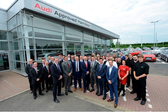 Lookers Audi Approved Hamilton car dealership