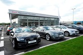 Lookers Audi Approved Hamilton car dealership
