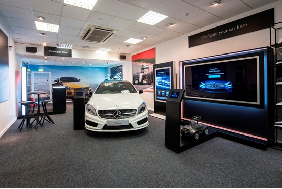 Mercedes Benz Retail Dealers Open Pop Up Store In