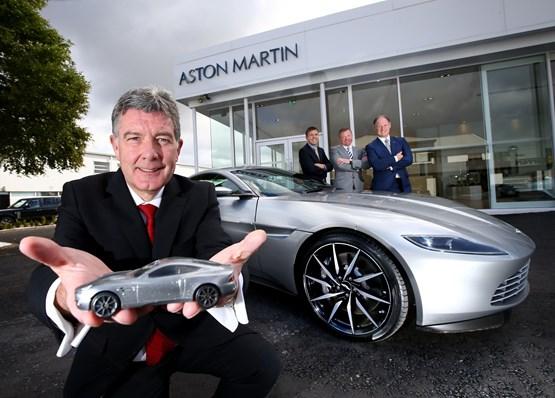 Northern Ireland Car Dealer Charles Hurst Opens New Aston Martin